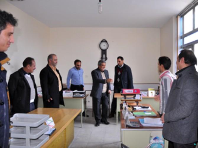 حضور  مهندس مس فروش  رئیس سازمان صنعت و معدن و تجارت استان تهران در ملارد + گزارش تصویری