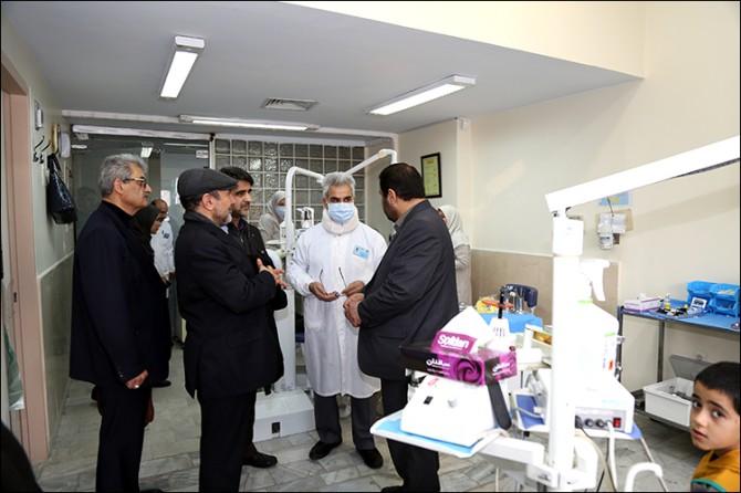 گزارش تصویری/بازدید مدیرکل تامین اجتماعی درمان استان تهران و نماینده شهریار قدس و ملارد از بیمارستانهای شهریار قدس