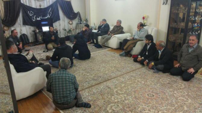 افتتاحیه ششمین جشنواره مردمی فیلم عمار در هیئت العباس اندیشه