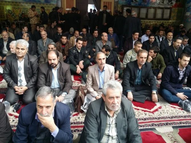 حضور پرسنل شبکه بهداشت و درمان شهرستان شهریار در تجمع بزرگ و مراسم گرامیداشت شهادت آیت الله شیخ نمر