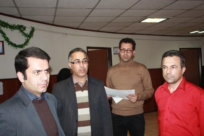 برگزاری آزمون زمستان  انجمن خوشنویسان شهرستان شهریار