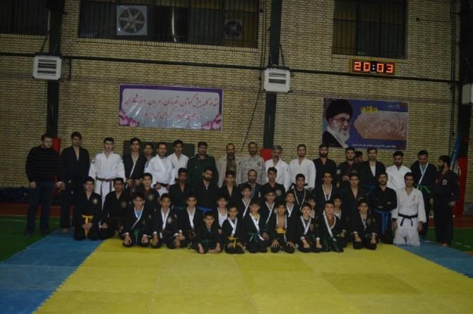 بازدید مسئولین سپاه استان تهران از مدرسه دفاع شخصی شهریار