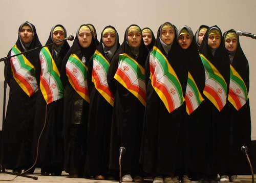 برگزاری جشنواره سرود انقلابی