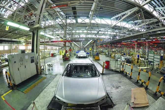 بازدید از شرکت مهندسی تولیدی رقطعات خودرو