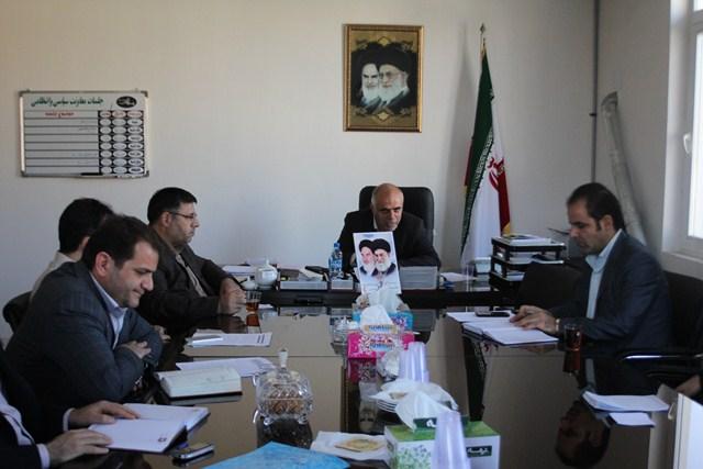 جمع بندی نهائی تعداد و محل شعب اخذ رای در حوزه فرعی شهرستان ملارد