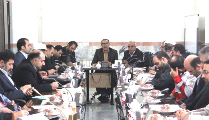 جلسه ستاد بزرگداشت دهه مبارک فجر شهرستان ملارد