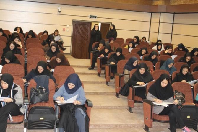 «آزمون جامع داخلی واحد بهداشت خانواده  » درشهرستان شهریار برگزار شد .
