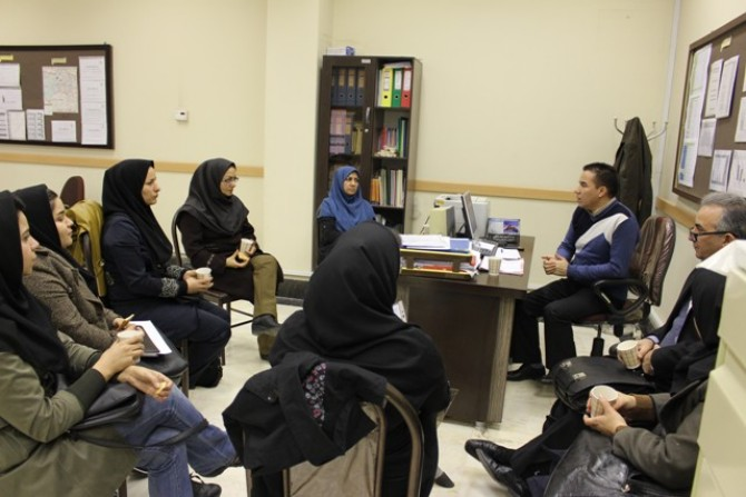 جلسه آموزشی سلامت روان تشکیل شد