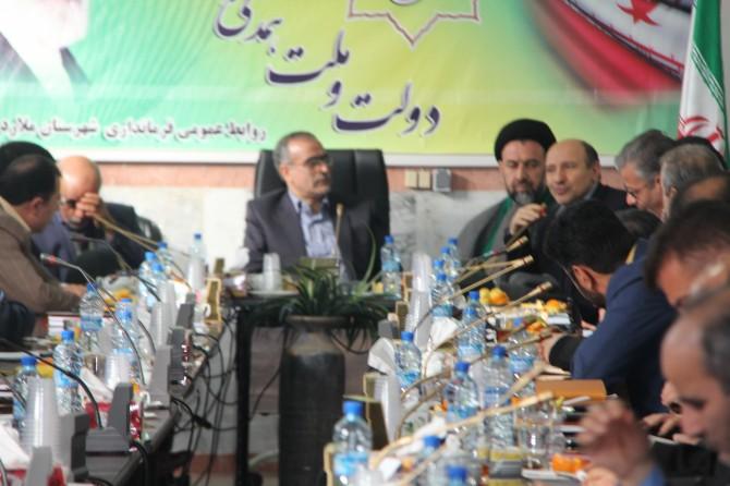 گزارش تصویری از شورای اداری شهرستان ملارد