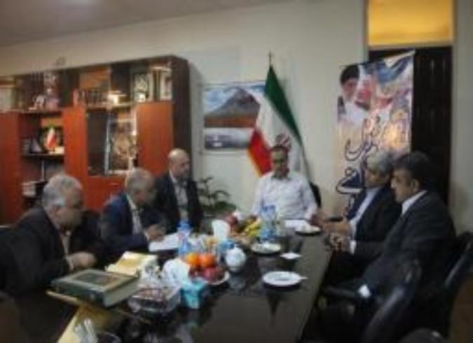 نشست هماهنگی فرمانداران شهرستان های ملارد،شهریار وقدس برگزار شد