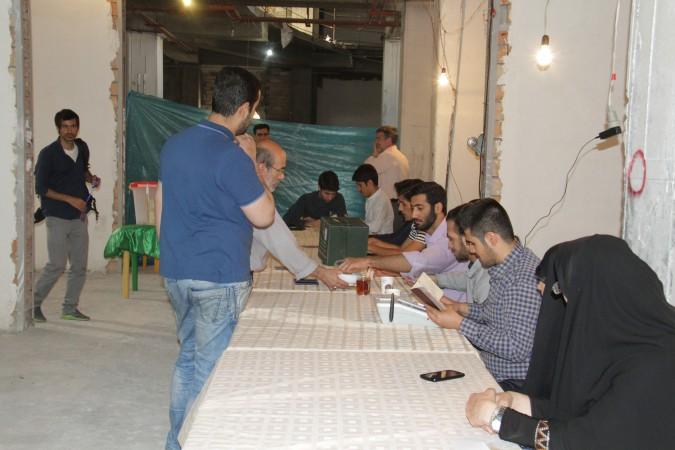 گزارش تصویری از ستادهای اخذ رای دهمین دوره  انتخابات مجلس شورای اسلامی در مرحله دوم
