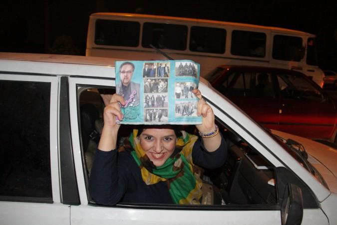 گزارش تصویری از جشن پیروزی حامیان مهندس محمودی