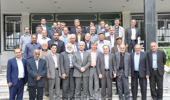 اولین جلسه شورای مشورتی شهرستان شهریار(شمش)، در حوزه کشاورزی برگزار شد