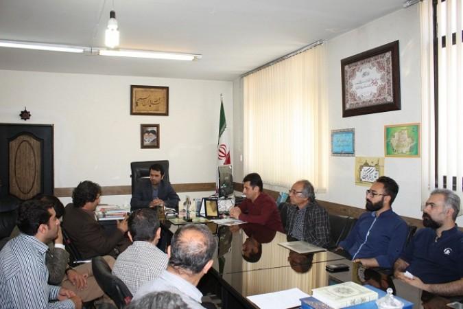 دیدار وگفتگو سرپرست اداره با اعضای انجمن موسیقی شهرستان شهریار
