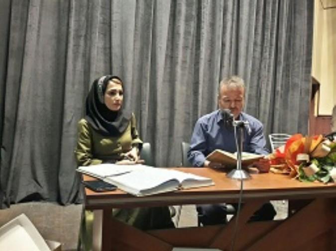 برگزاری شب شعر انتظار درشهرستان شهریار