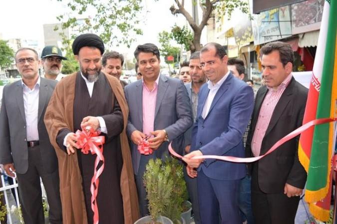 پل مکانیزه عابر پیاده و پارک بانوان فدک در ملارد افتتاح شد