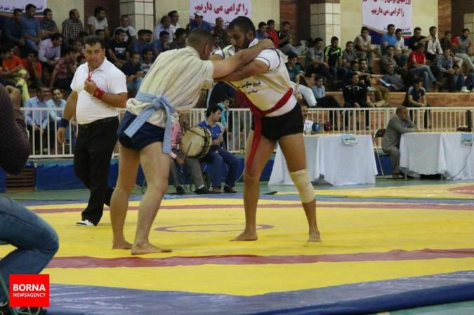 مسابقات کشوری کشتی باچوخه جام اندیشه در شهریار برگزار شد