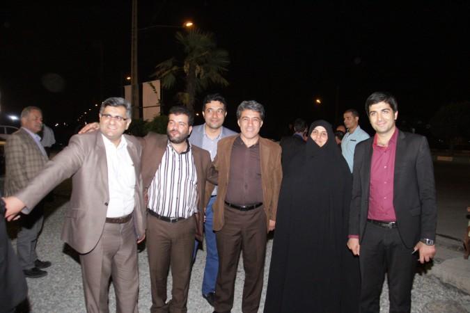 گزارش تصویری از جشن بزرگ مبعث   در شهریار با حضور مهندس محمودی