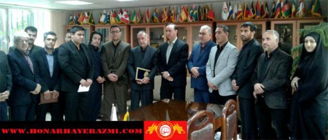 ناصر همدانیان رئیس هئیت کونگ فو شهریار سرپرست کمیته کونگ فو توتایما فدراسیون منصوب شد