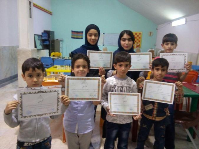 نتیجه مسابقه رده سنی زیر 15 سال بمناسبت مبعث رسول اکرم در شهریار