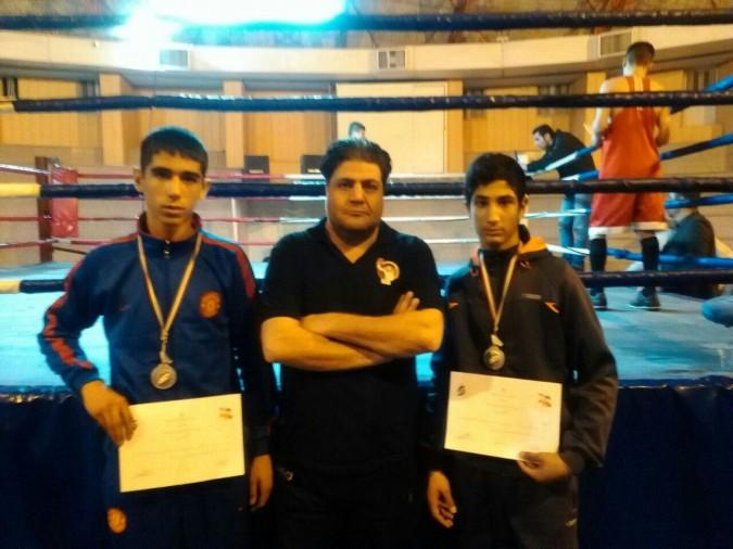 حضور ورزشکاران بوکس شهریار در تیم ملی جمهوری اسلامی ایران