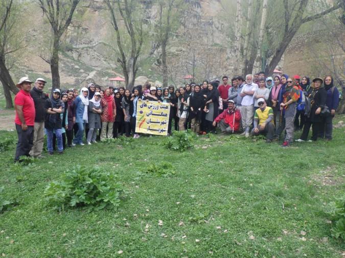 همایش کوهپیمایی دانش آموزی توسط  هیئت همگانی شهریاربا موفقیت اجراء شد.