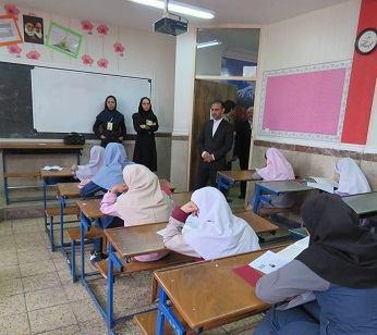 آزمون ورودی مدارس استعداد های درخشان در شهریار برگزار شد