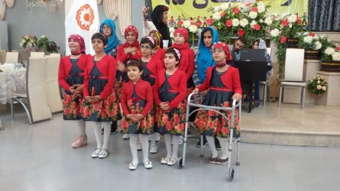 برگزاری جشن گلریزان اداره بهزیستی شهرستان ملارد