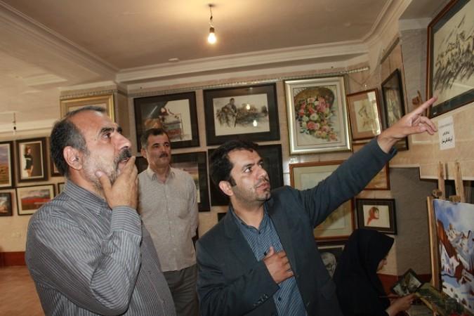 برگزاری نمایشگاه آثار نقاشی استاد محمد رفیق در اندیشه شهریار