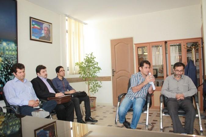 دومین نشست سرپرست اداره با اعضای انجمن موسیقی شهرستان شهریار