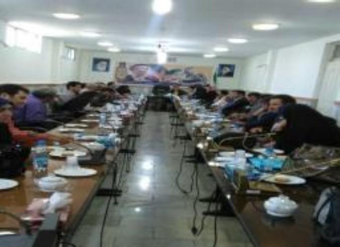 برگزاری شورای CBR برای اولین بار در شهرستان ملارد