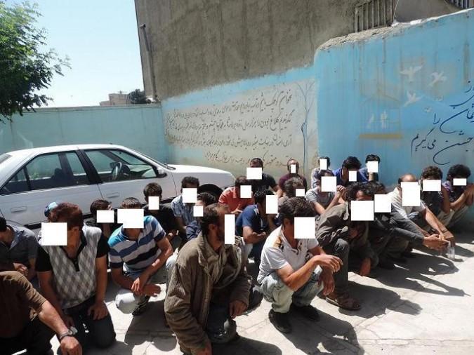 اجرای طرح ارتقاء امنیت اجتماعی با دستگیری 406 معتاد متجاهر