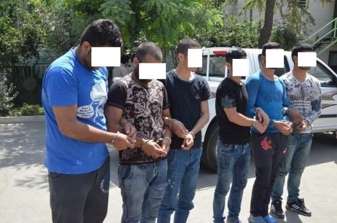 دستگیری 12 سارق و کشف 58 فقره سرقت