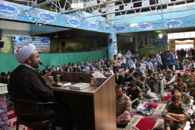 مراسم بیست و هفتمین سالگرد ارتحال حضرت امام خمینی (ره) در شهریار برگزار شد .