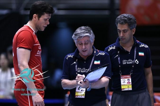 صعود والیبالیست های ایران به المپیک ریو با حضور مهدی مهدوی پاسور شهریاری