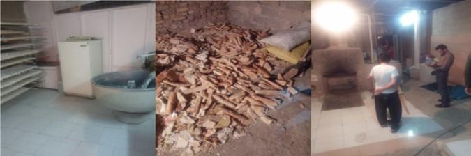 کشف و توقیف یک واحد کارگاه غیر مجاز تولید نان فانتزی در شهرستان شهریار