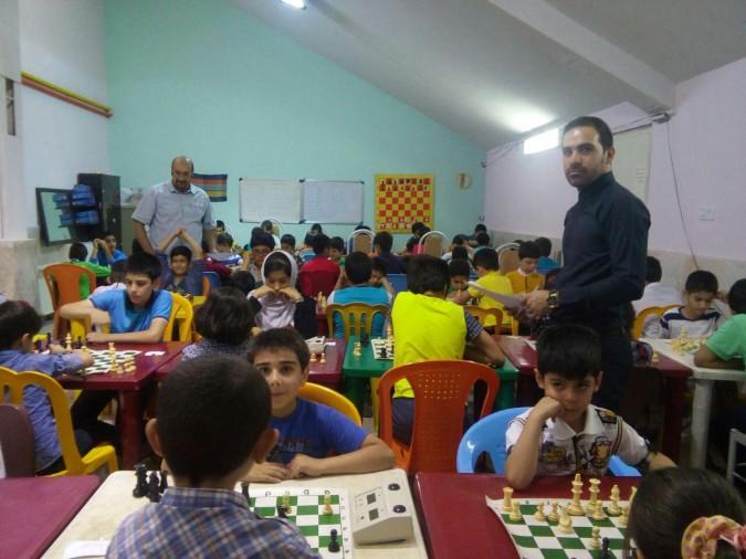 نتایج مسابقات شطرنج جام رمضان رده سنی زیر 15 سال هئیت شهرستان شهریار