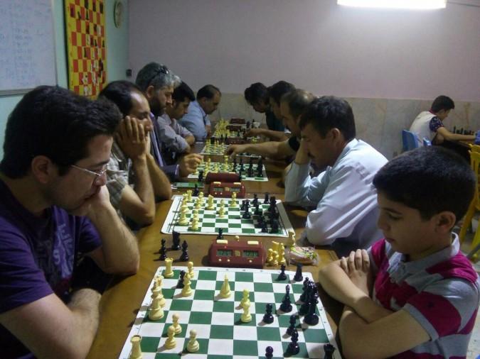 مسابقات هفتگی هئیت شطرنج شهریار برگزار شد