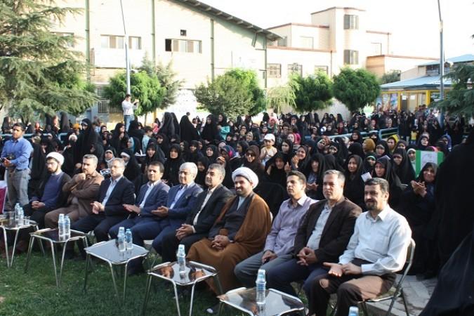 برگزاری همایش مدافعان حریم خانواده درشهرستان شهریار