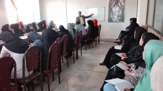 برگزاری کارگاه تخصصی فن بیان در شهرستان ملارد