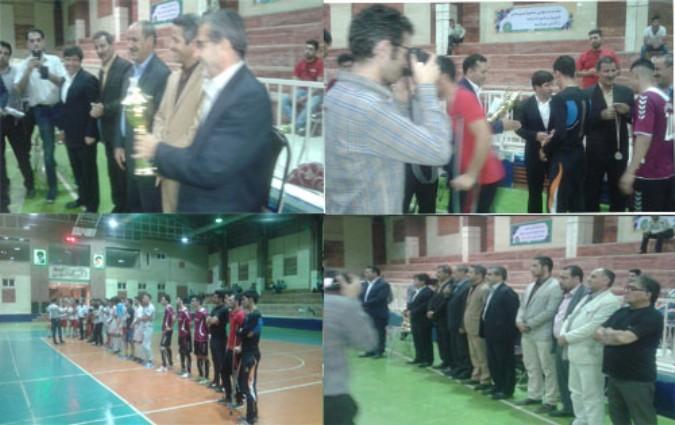فینال مسابقات فوتسال جام رمضان در شهر اندیشه شهریار برگزار شد