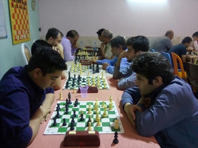 مسابقات هفتگی شطرنج در آکادمی این هئیت برگزار شد.