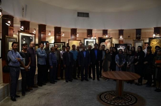 افتتاح اولین نمایشگاه انجمن هنرهای تجسمی شهریار ویژه ماه مبارک رمضان