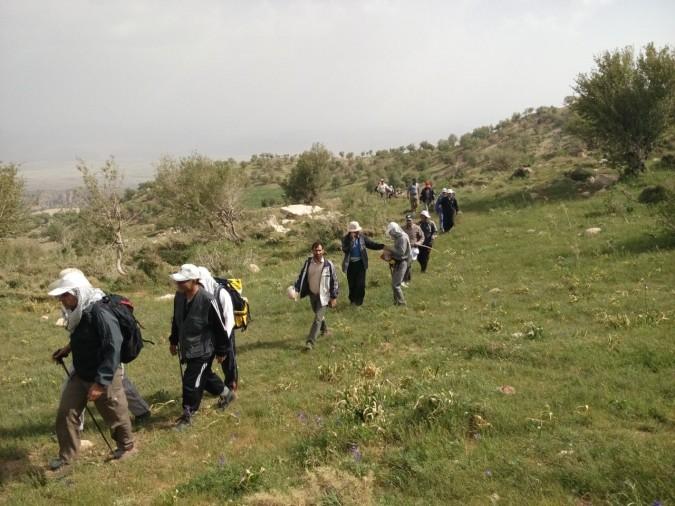 هیئت ورزشهای همگانی شهر شهریار یک دوره اردوی یک روزه در منطقه طالقان برگزار نمود.