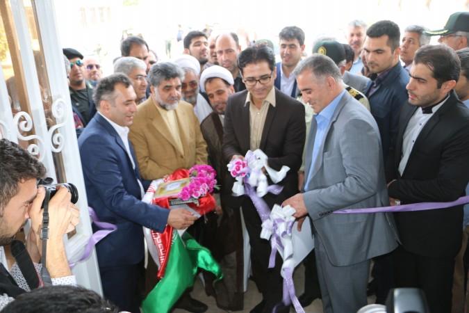 گزارش تصویری از افتتاحیه پروژه های عمرانی با حضور استاندار تهران