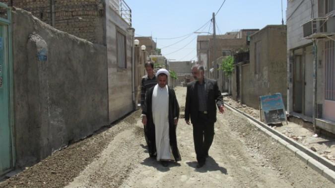 دیدار امام جمعه شهر وحیدیه از خانواده های تحت حمایت کمیته امداد امام خمینی (ره)