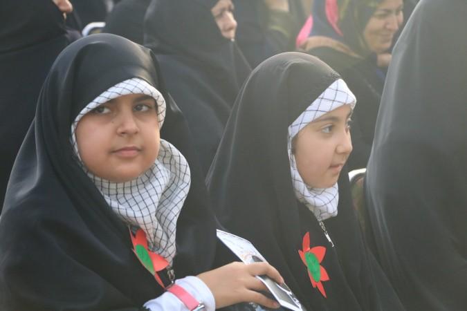 گزارش تصویری از همایش مدافعان حریم خانواده در پارک کودک شهریار