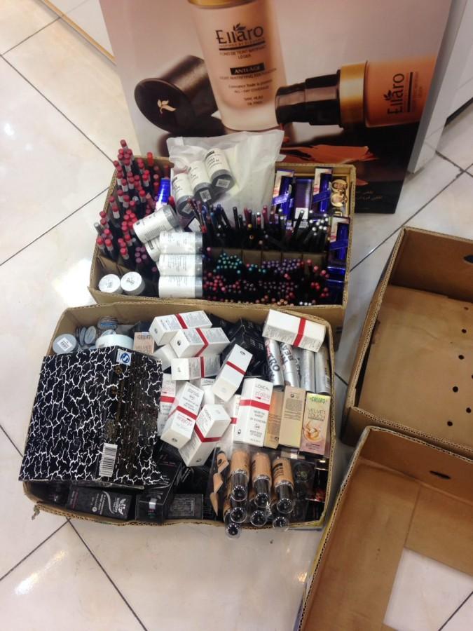 کشف لوازم آرایشی بهداشتی قاچاق