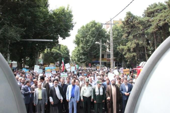 بیانیـه تشـکر شورای هماهنگی تبلیغات اسلامی از حضور پرشور مردم در راهپیمایی روز جهانی قدس