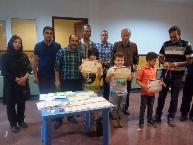 مسابقات شطرنج ریتد جام رمضان شهرستان شهریار به کار خود پایان داد